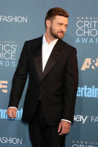 Justin Timberlake short crew cut style plus a beard.
