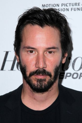 Keanu Reeves thick mustache