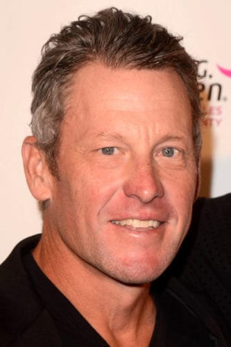 Lance Armstrong without Receding Hairline