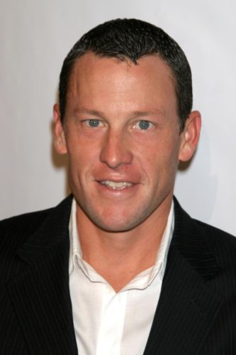 Lance Armstrong Receding Hairline