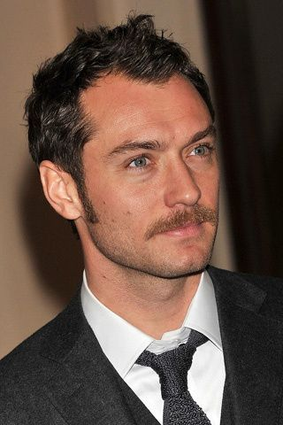 Jude Law Styled Sideburns