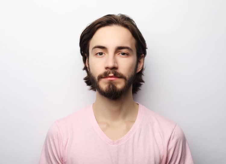 Low Boxed Beard Style