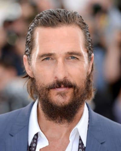Matthew McConaughey's bad beard