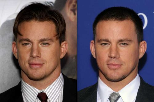 Channing Tatum with Hair