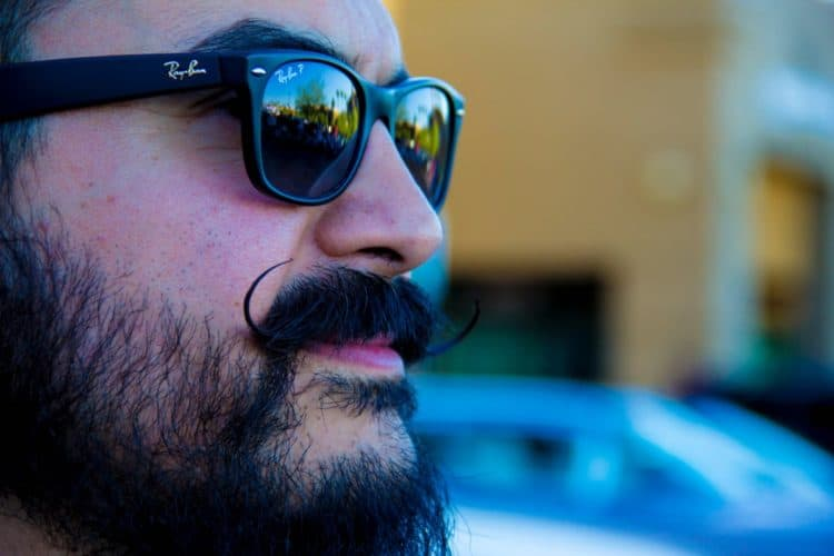 Mustache Styles to Try in 2020 - Start with a curly mustache