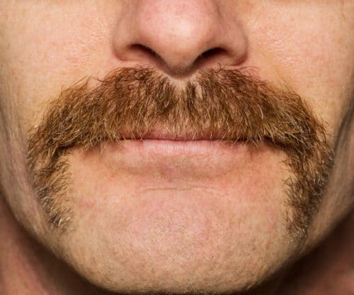 natural mustache growth