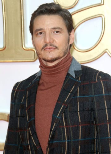 Pedro Pascal Pencil Thin Mustache and Patchy Beard