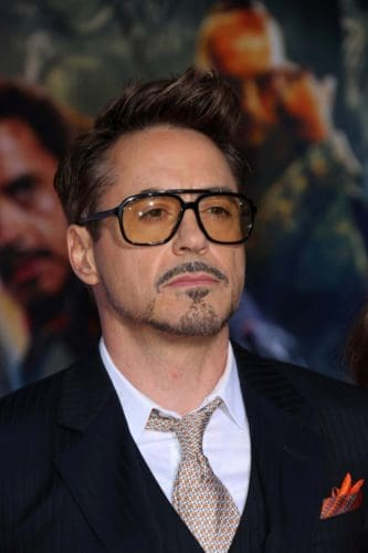 Robert Downey Goatee