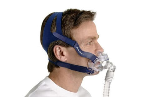 ResMed Mirage Liberty Full Face CPAP Mask is perfect for those with facial hair.