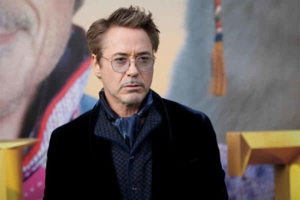 Robert Downey Jr current hairstyle