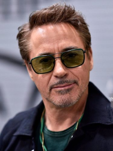Robert Downey Jr Short Hair with side part