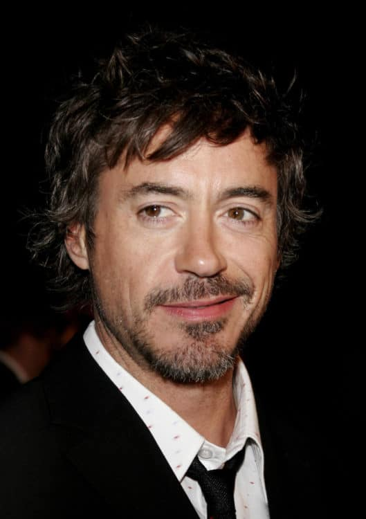 Robert Downey Jr. anchor beard