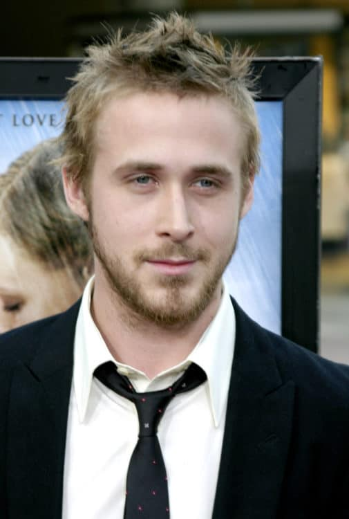Young Ryan Gosling Beard