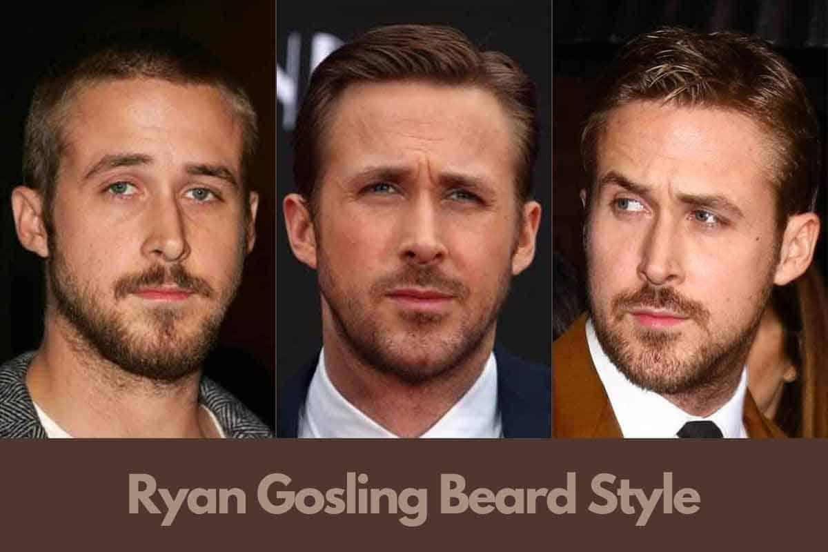 Ryan Gosling Beard Style Guide