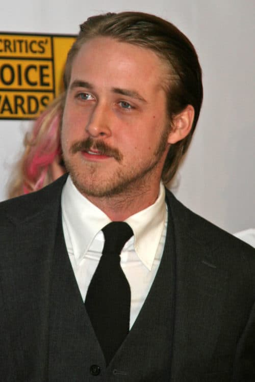 Ryan Gosling Chin and Jawline Beard
