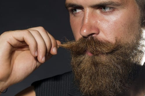 Using good products can help soften a beard