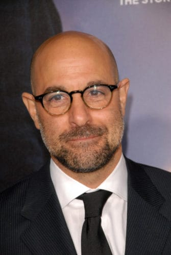 Stanley Tucci is bald now, but still a great actor.