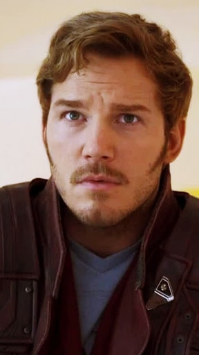 Bearded superheroes like Star-Lord look better with facial hair.