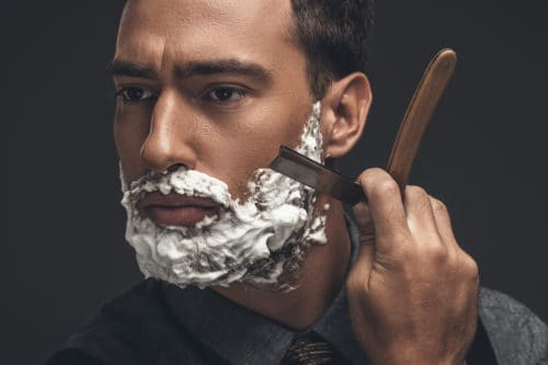 A top razor option for men is the straight razor