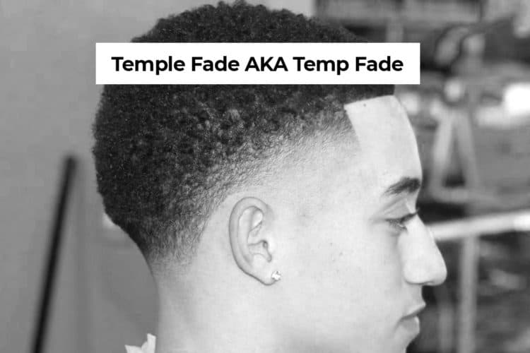 temple fade haircut