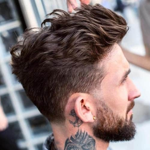 taper with textured length