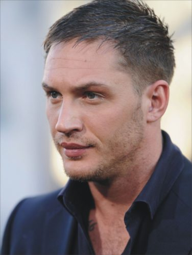 Tom Hardy Crew Cut with short taper