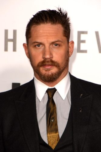 Tom Hardy Beard Style and spikes.