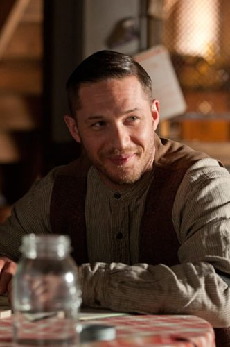 Tom Hardy Lawless Haircut