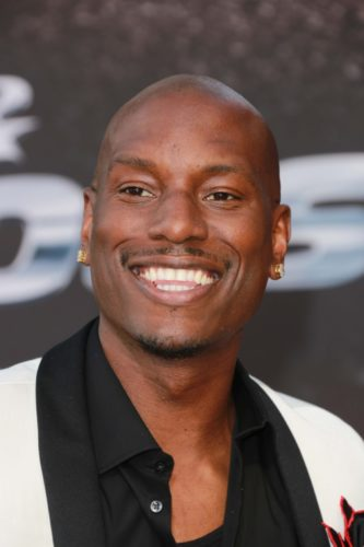 Tyrese Gibson without Hair