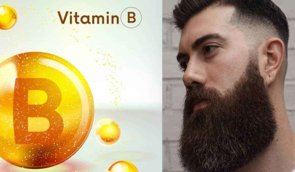 B vitamins are essential for beard growth