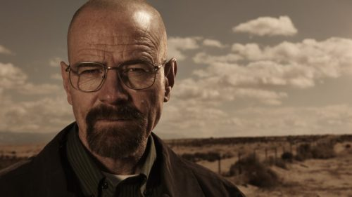 Played by Bryan Cranston, Heisenberg AKA Walter White sports a Goatee on the hit show Breaking Bad on AMC