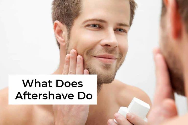 what does aftershave do