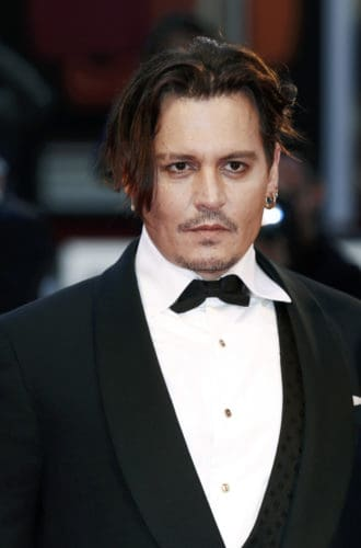 Widow's Peak Hairline on Johnny Depp