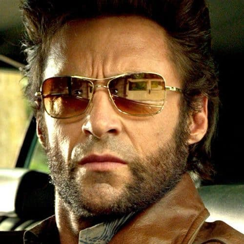 Wolverine Beard Style in X-Men
