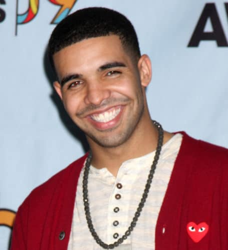 young drake with fade