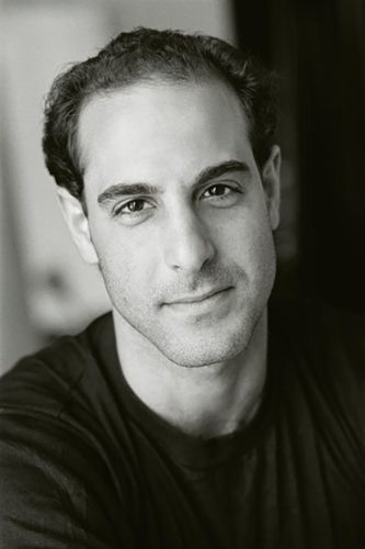 Young Stanley Tucci with Hair